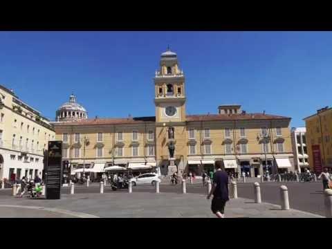 Parma a spasso per la città