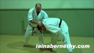 Practical Kata Bunkai: Takedown and Strangle