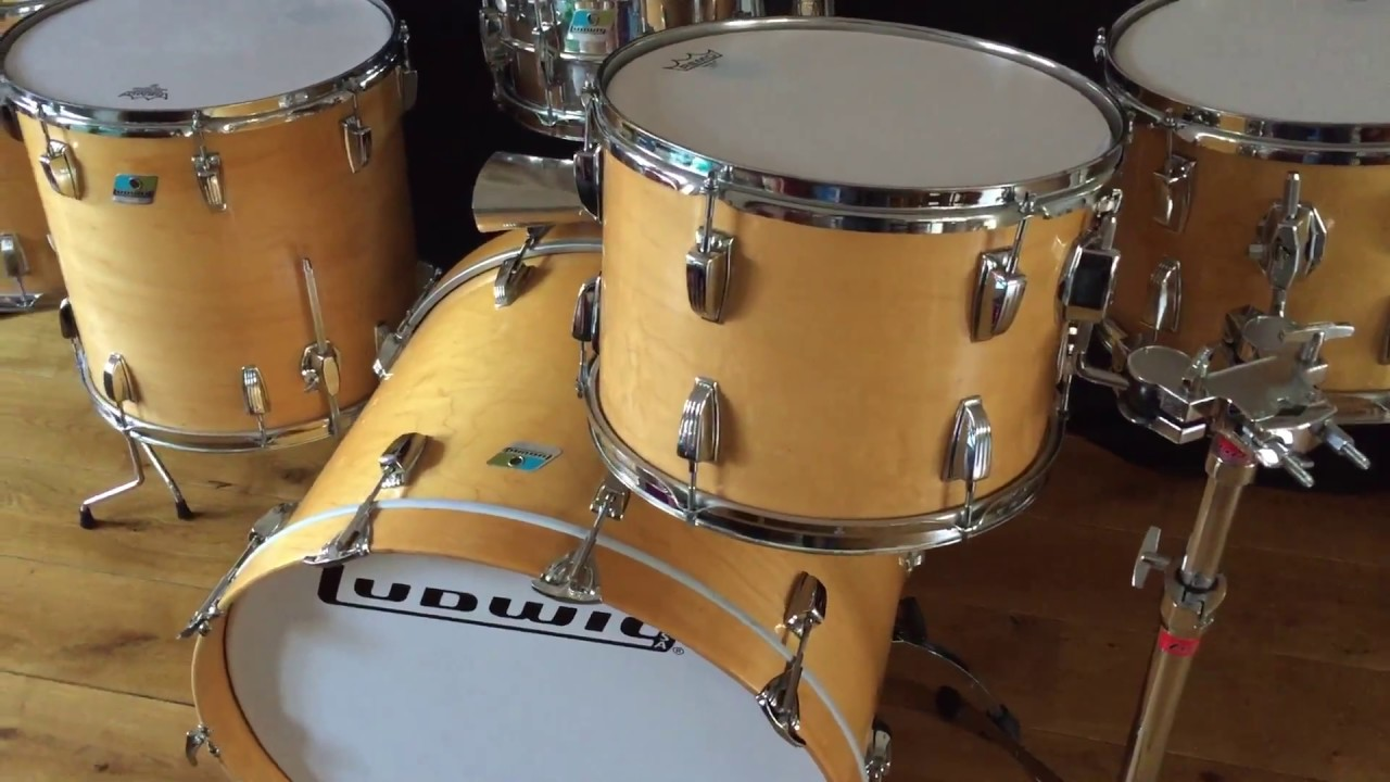 1979 ludwig pro beat thermogloss drumset for sale youtube. Black Bedroom Furniture Sets. Home Design Ideas