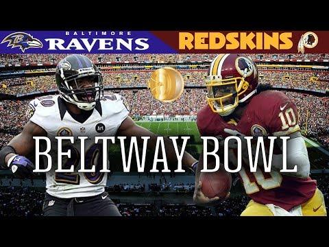 The Beltway Bowl! (Ravens vs. Redskins, 2012) | NFL Vault Highlights