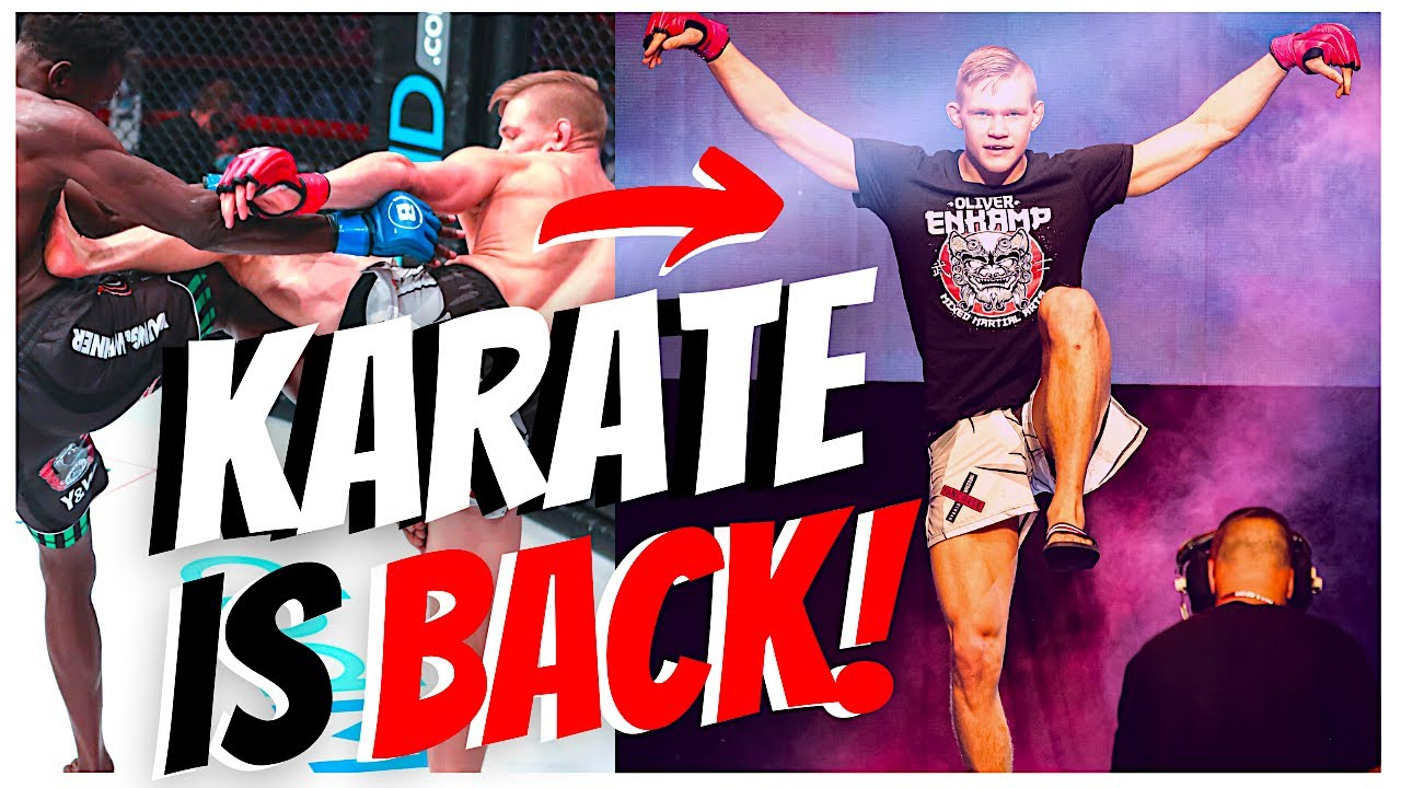 Most Exciting KARATE Fighter in MMA! 🥋 (Oliver Enkamp)