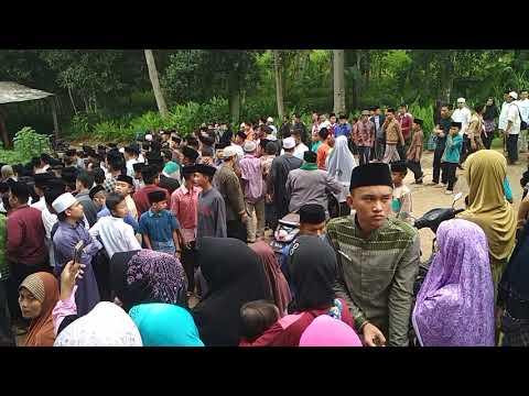 Detik detik terakhir Pemakaman KH. Cecep Pimpinan Pondok Pesantren Darussalam
