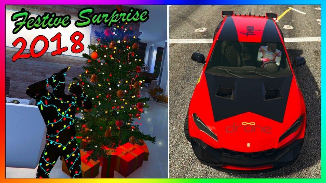 GTA 5 Online Christmas DLC 2018 - FREE Xmas Gifts + New  Pegassi Toros  Car Customization! & GTA 5 Online Christmas DLC 2018 - FREE Xmas Gifts + New