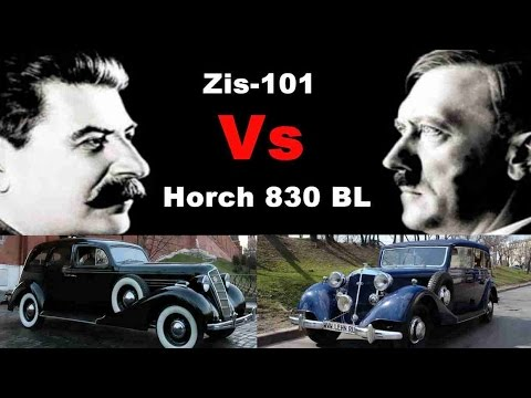 Stalin Car Vs Hitler Car | Zis-101 Vs Horch 830 BL
