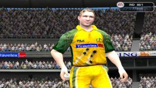 EA Cricket 2005 Ind vs Aus 20 Over Match