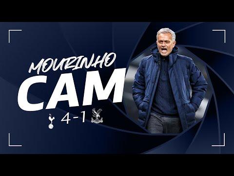Holidays on Mourinho's contact line in the fantastic palace v!  MOURINHO CAM |  Spurs 4-1 Palace