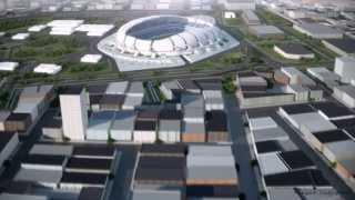Arena das Dunas - maquete eletrônica - electronic mock-up
