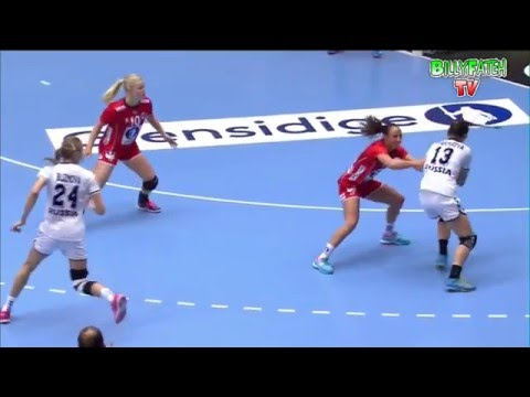 Norway VS Russia 22nd IHF Women's Handball Championship 2015 Preliminary round