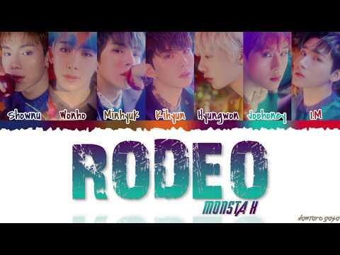 MONSTA X 몬스타엑스 - &39;RODEO&39;  Color CodedHanRomEng