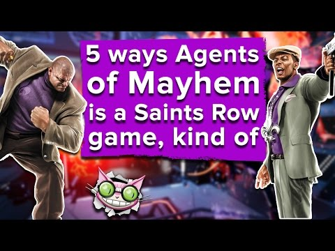 5 ways Agents Of Mayhem is a Saints Row game, kind of