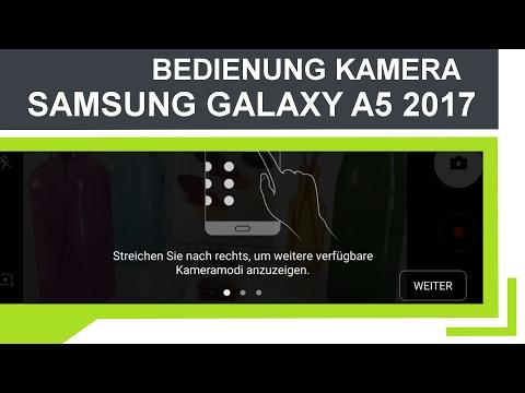 Tutorial: Samsung Galaxy A5 2017 (Deutsch) | Kamera App