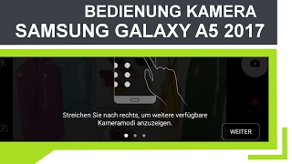 Tutorial: Samsung Galaxy A5 2017 (Deutsch) | Kamera App