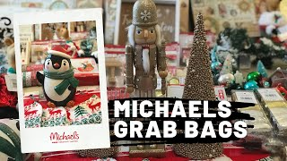 Michaels $4 Grab Bags! January 2020 - GREAT Christmas clearance!!