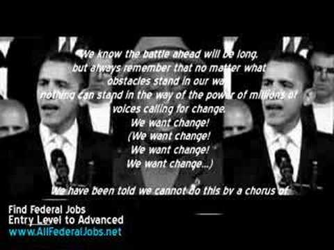 Yes We Can - Barack Obama Lyrics Music Video