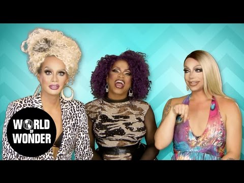 FASHION PHOTO RUVIEW w/ Raja, Raven & Kennedy Davenport RuPaul's Drag Race