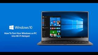 Делаем точку доступа Wi-Fi в Windows 10