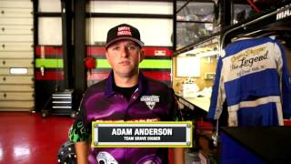 Adam Anderson joins the Grave Digger team
