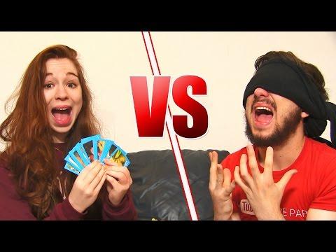 BOYFRIEND VS GIRLFRIEND CHALLENGE !! - David Lafarge VS MissJirachi !