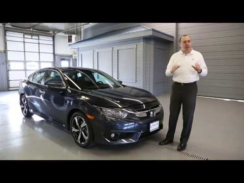 2017 Honda Civic Touring 4D Sedan | Brilliance Honda