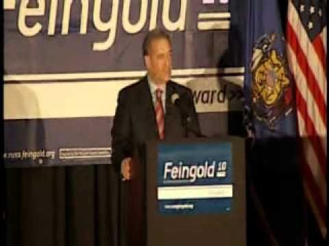 VIDEO: Russ Feingold Concession Speech 11/2/2010