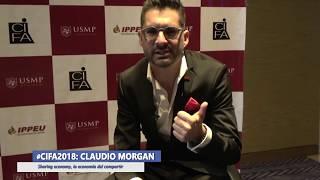 """CLAUDIO MORGAN: """"Sharing Economy - La economía del compartir"""""""