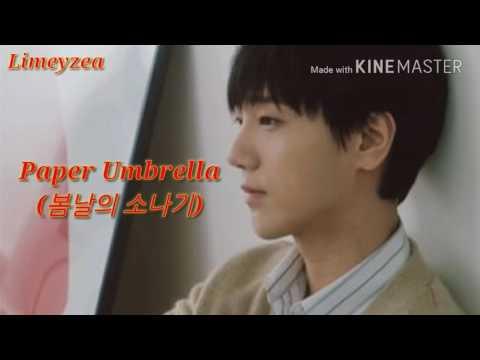 Yesung Super Junior - PAPER UMBRELLA (봄날의 소나기) The 2nd Album of Spring Falling MV/MP3
