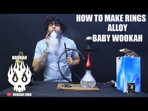 ALLOY BABY WOOKAH | HOOKAH RINGS |HOOKAH LORD |
