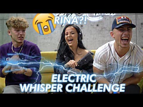 RINA BALAJ - ELECTRIC SHOCK WHISPER CHALLENGE