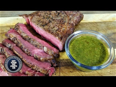 Sous Vide Ribeye Steaks With Chimichurri - Anova Culinary Sous Vide Precision Cooker