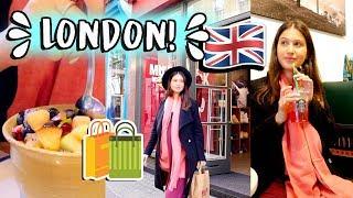 יום בחיי בלונדון!🇬🇧🛍 שגרת היום שלי בחו״ל!