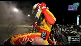 Raw emotion of Joey Logano's championship celebration