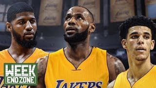Lebron James & Paul George Discuss Joining Up With The Lakers! | WEZ