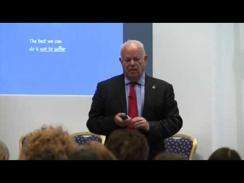 Dr Martin Seligman at the BPS Annual Conference 2017