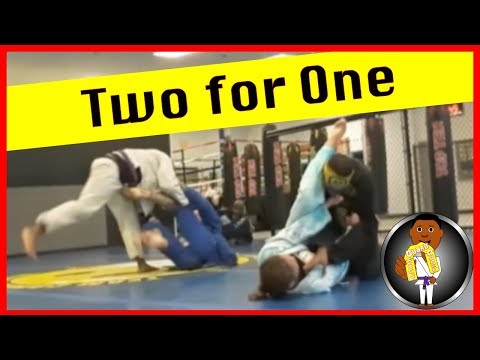 BJJ Roll No. 96 - Two for One -  Bakari, Tre, Gabe and Ayana