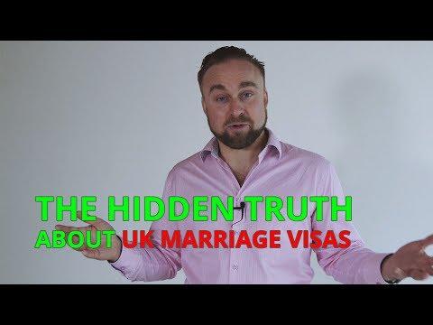 UK marriage visas  - the hidden truth