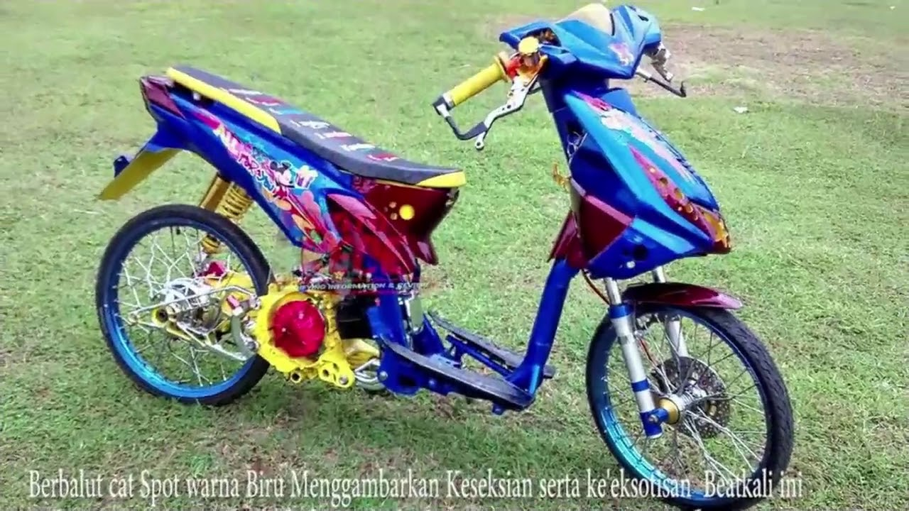 58 Modifikasi Beat Eco Terbaru Tang Motor
