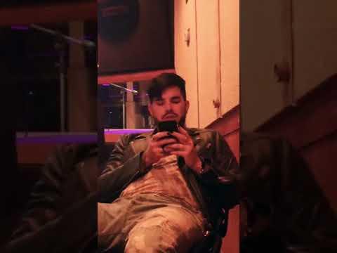 Adam Lambert in the studio with Sam Sparro, May 22