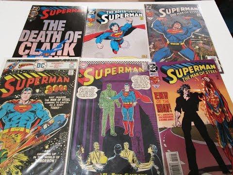 My comic book haul The Adventures of Superman