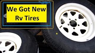 New RV Tires Install and Tips  EP 11