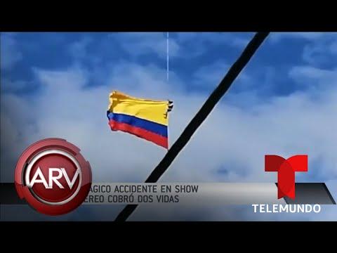 Exhibición militar termina en una espantosa tragedia para dos soldados | Al Rojo Vivo | Telemundo
