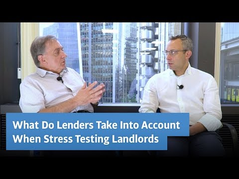 What Do Lenders Take Into Account When Stress Testing Landlords