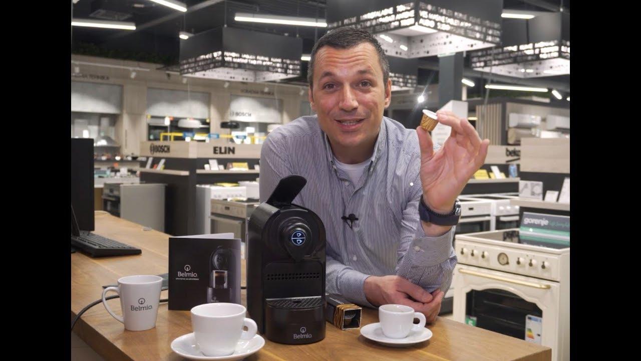 Belmio Kafe Aparati Uzivanje U Pravom Espresso Napitku Moguce Je I Kod Kuce Youtube