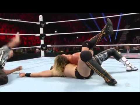 WWE RAW 9th November 2015