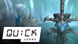 Warcraft III: Reforged: Quick Look (Video Game Video Review)