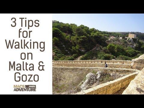 3 Tips for Walking on Malta & Gozo