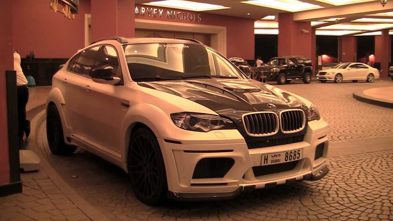 Bmw X6m Hamann Tycoon Matte White Youtube