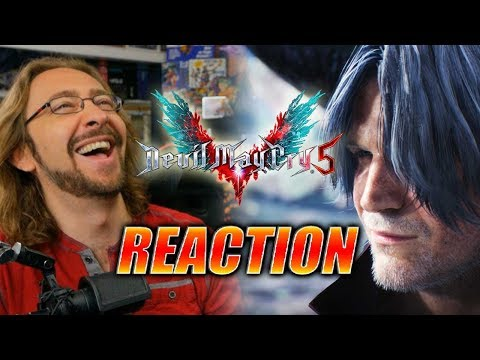 MAX REACTS: Nero/Dante Gameplay Trailer - Devil May Cry 5