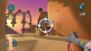 Worms Ultimate Mayhem (PS3) - Multiplayer Gameplay #1