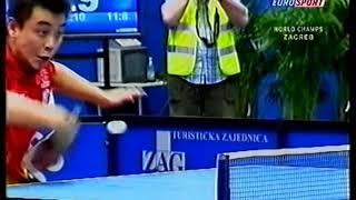 2007 Чемпионат Мира World Championship Zagreb Chuan Wang Hao table tennis 1 8