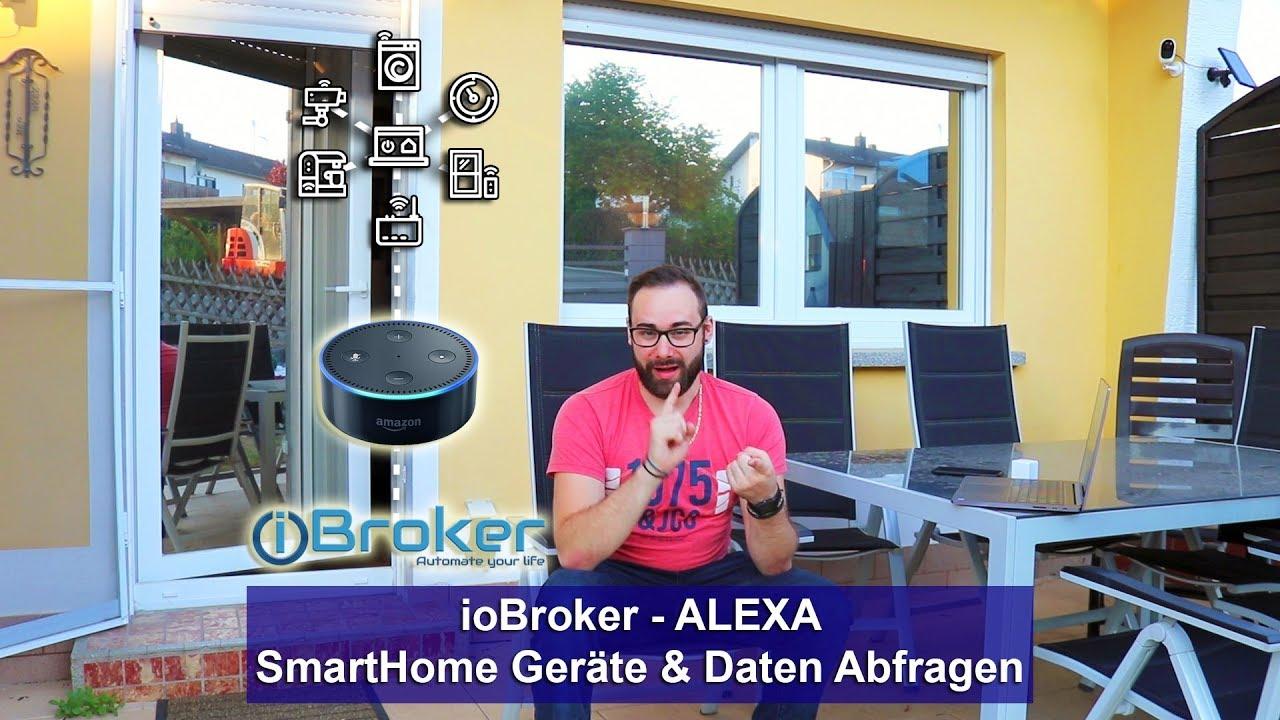 iobroker alexa integration aller smarthome ger te. Black Bedroom Furniture Sets. Home Design Ideas